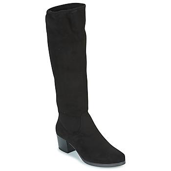 Boty Ženy Kozačky Caprice BELLA Černá