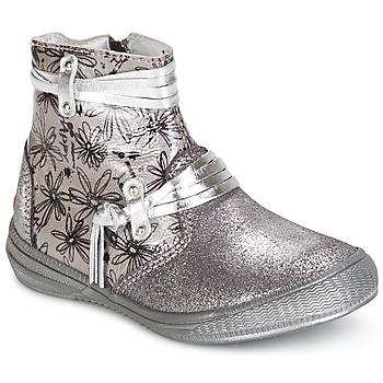 Boty Dívčí Kotníkové boty GBB REVA Stříbrná