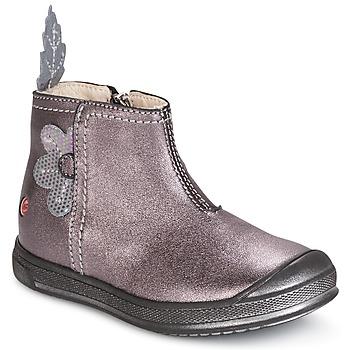 Boty Dívčí Kotníkové boty GBB ROMANE Růžová