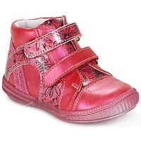 Boty Dívčí Kotníkové boty GBB ROXANE Malinová