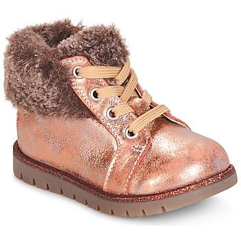 Boty Dívčí Kotníkové boty GBB RENATA Růžová