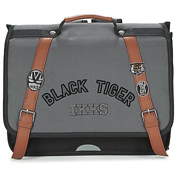 Ikks Školní aktovky Dětské BLACK TIGER CARTABLE 38CM - Černá