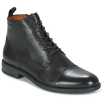 Boty Muži Kotníkové boty Vagabond SALVATORE Černá