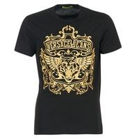 Textil Muži Trička s krátkým rukávem Versace Jeans B3GQB7T2 Černá / Zlatá