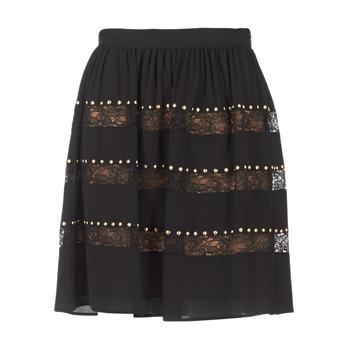 Textil Ženy Sukně MICHAEL Michael Kors HT/ LACE MIX Černá