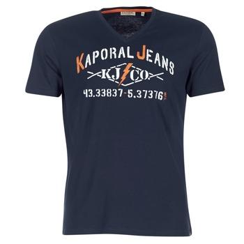 Textil Muži Trička s krátkým rukávem Kaporal MAKAO Tmavě modrá