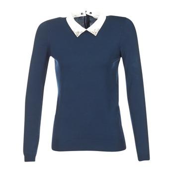 Textil Ženy Svetry Naf Naf MARJORA Tmavě modrá
