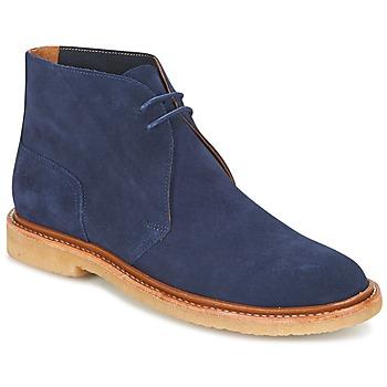 Boty Muži Kotníkové boty Polo Ralph Lauren KARLYLE Tmavě modrá
