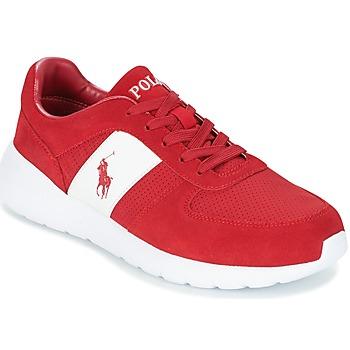 Boty Muži Nízké tenisky Polo Ralph Lauren CORDELL Červená