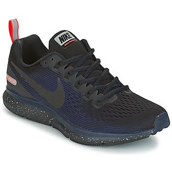 Boty Ženy Běžecké / Krosové boty Nike AIR ZOOM PEGASUS 34 SHIELD Černá / Modrá
