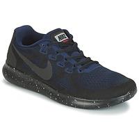 Boty Ženy Běžecké / Krosové boty Nike FREE RUN 2017 SHIELD Černá / Modrá