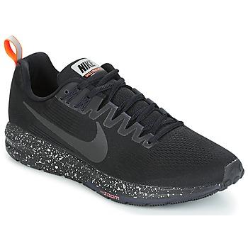 Boty Muži Běžecké / Krosové boty Nike AIR ZOOM STRUCTURE 21 SHIELD Černá