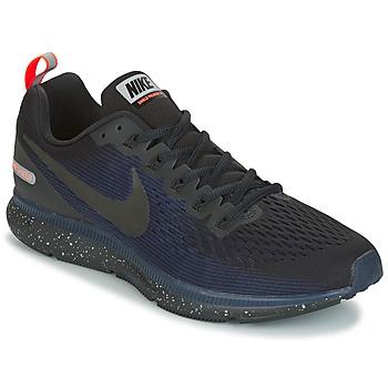 Boty Muži Běžecké / Krosové boty Nike AIR ZOOM PEGASUS 34 SHIELD Černá / Modrá