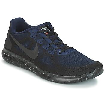 Boty Muži Běžecké / Krosové boty Nike FREE RUN 2017 SHIELD Černá / Modrá