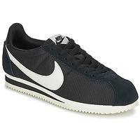 Boty Ženy Nízké tenisky Nike CLASSIC CORTEZ NYLON W Černá / Bílá