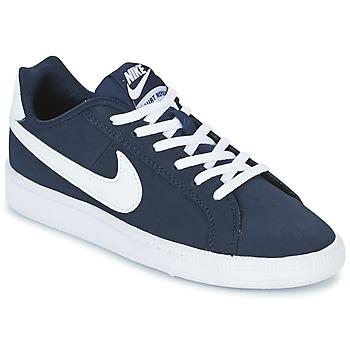 Boty Chlapecké Nízké tenisky Nike COURT ROYALE GRADE SCHOOL Modrá / Bílá