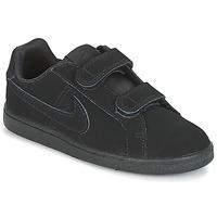 Boty Chlapecké Nízké tenisky Nike COURT ROYALE PRE-SCHOOL Černá