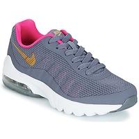 Boty Dívčí Nízké tenisky Nike AIR MAX INVIGOR GRADE SCHOOL Modrá / Růžová