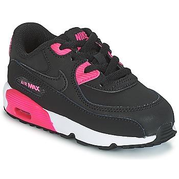 Nike Tenisky Dětské AIR MAX 90 LEATHER TODDLER - Černá