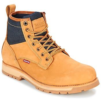 Boty Muži Kotníkové boty Levi's LOGAN Žlutá