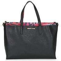 Taška Ženy Velké kabelky / Nákupní tašky Versace Jeans ANTALOS Černá / Červená