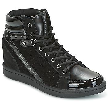 Boty Ženy Kotníkové tenisky Versace Jeans GERFI Černá