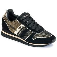 Boty Ženy Nízké tenisky Versace Jeans LETRE Černá / Zlatá