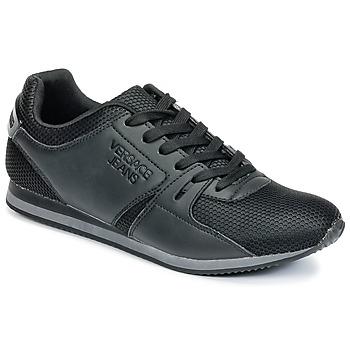 Boty Muži Nízké tenisky Versace Jeans DEGI Černá