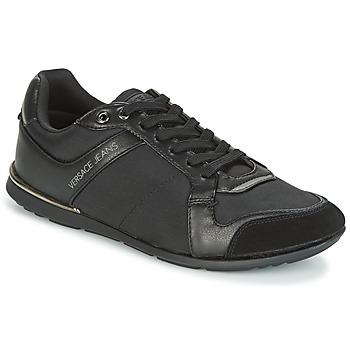 Boty Muži Nízké tenisky Versace Jeans TERU Černá