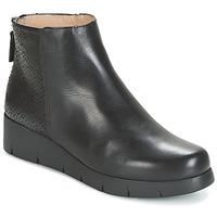 Boty Ženy Kotníkové boty Unisa FANI Černá