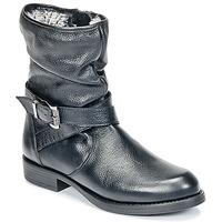 Boty Dívčí Kotníkové boty Unisa GADIN Černá