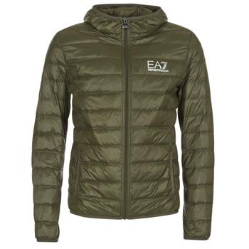 Textil Muži Prošívané bundy Emporio Armani EA7 TRAIN CORE ID DOWN LIGHT HD Khaki