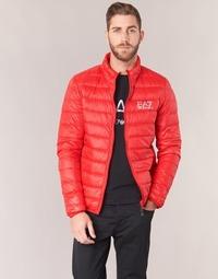 Textil Muži Prošívané bundy Emporio Armani EA7 TRAIN CORE ID DOWN LIGHT JKT Červená