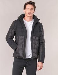 Textil Muži Prošívané bundy Emporio Armani EA7 MOUNTAIN M TECH JACKET Černá
