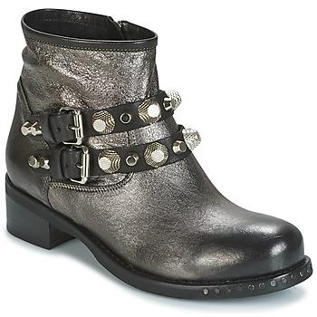Boty Ženy Kotníkové boty Mimmu BERLO Stříbřitá