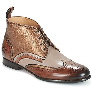 Boty Ženy Kotníkové boty Melvin & Hamilton SALLY 16 Zlatá