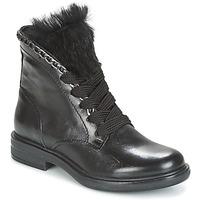 Boty Ženy Kotníkové boty Mjus CAFE LACE Černá