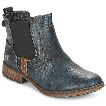 Boty Ženy Kotníkové boty Mustang NANI Tmavě modrá