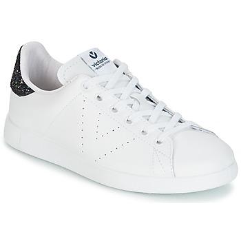 Boty Ženy Nízké tenisky Victoria DEPORTIVO BASKET PIEL Bílá / Modrá