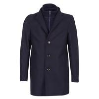 Textil Muži Kabáty Tommy Hilfiger CHASE TWILL COAT Tmavě modrá