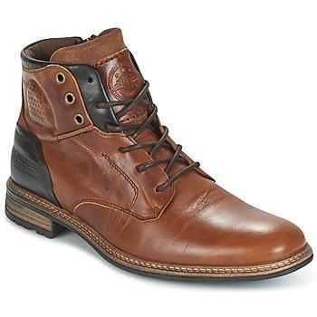 Bullboxer Kotníkové boty MOHA - Hnědá