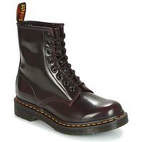 Boty Ženy Kotníkové boty Dr Martens 1460 Červená