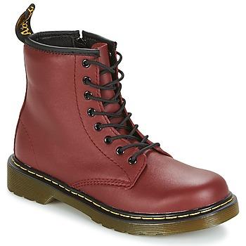 Boty Děti Kotníkové boty Dr Martens DELANEY Červená