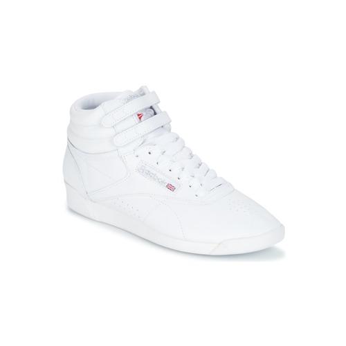 Boty Ženy Nízké tenisky Reebok Classic F/S HI Bílá / Stříbřitá