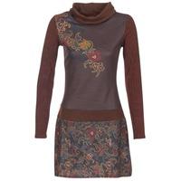 Textil Ženy Krátké šaty Smash NANCY Hnědá