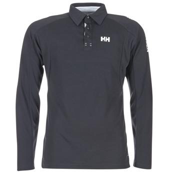 Textil Muži Polo s dlouhými rukávy Helly Hansen HP SHORE Tmavě modrá