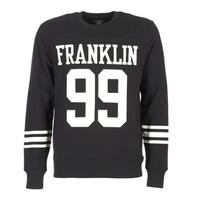 Textil Muži Mikiny Franklin & Marshall GECAR Černá / Bílá
