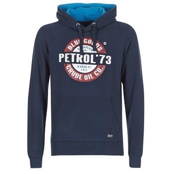 Textil Muži Mikiny Petrol Industries JACAR Tmavě modrá