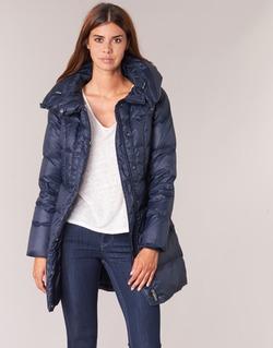 Textil Ženy Prošívané bundy Benetton MOSTE Tmavě modrá