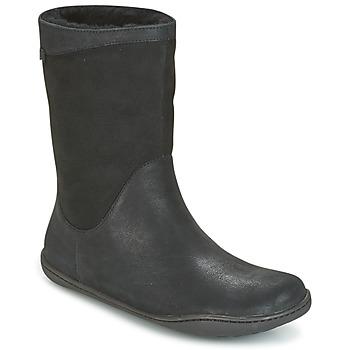 Camper Kotníkové boty PEU CAMI - Černá